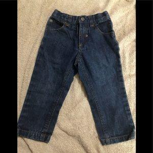 French toast boys denim jeans size 2t.